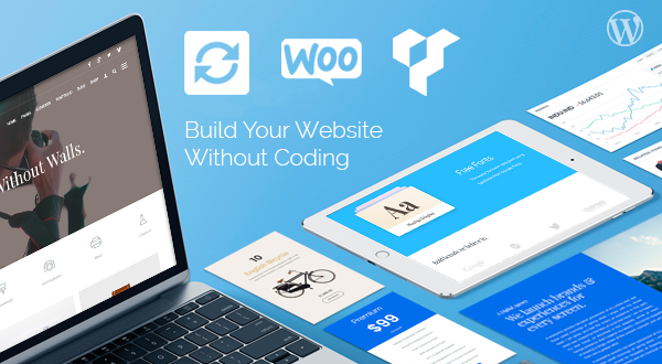 Build your own website! WordPress Themes For Any Site