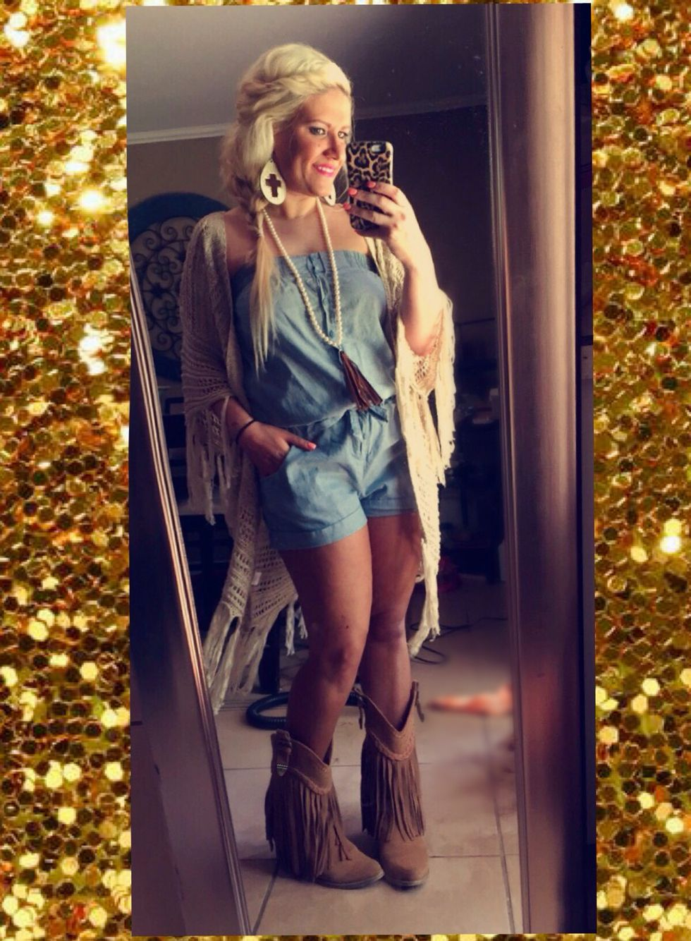 Ootd Southernrevival Boutique Cowgirl Outfit En 2019