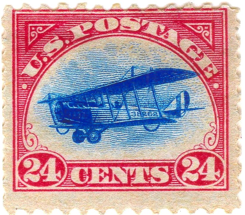 Alaska Statehood Air Mail Stamp New England Aviation