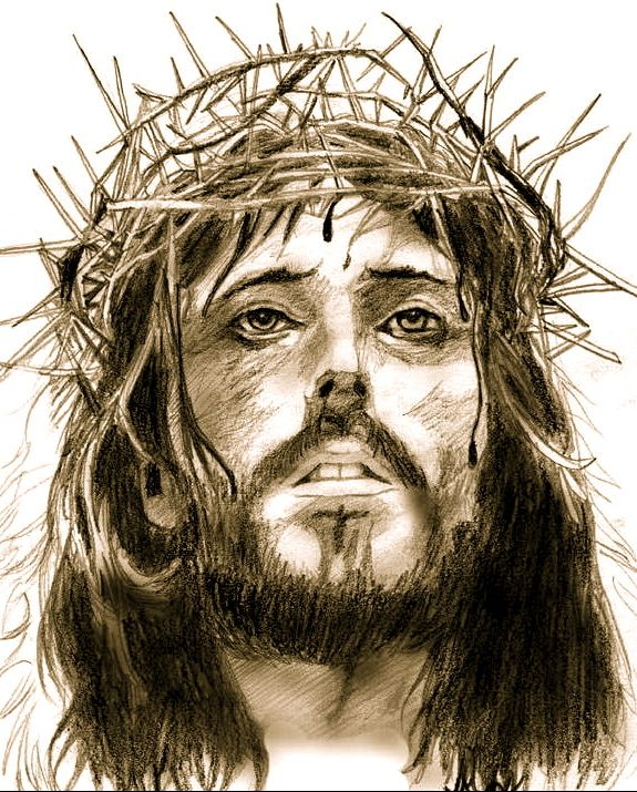 Gorgeous Pencil Drawing of Christ