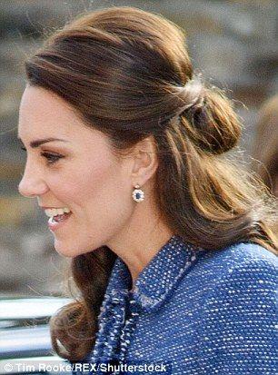 Duchess Of Cambridge Seems To Be Copying Retro Locks Of Princess