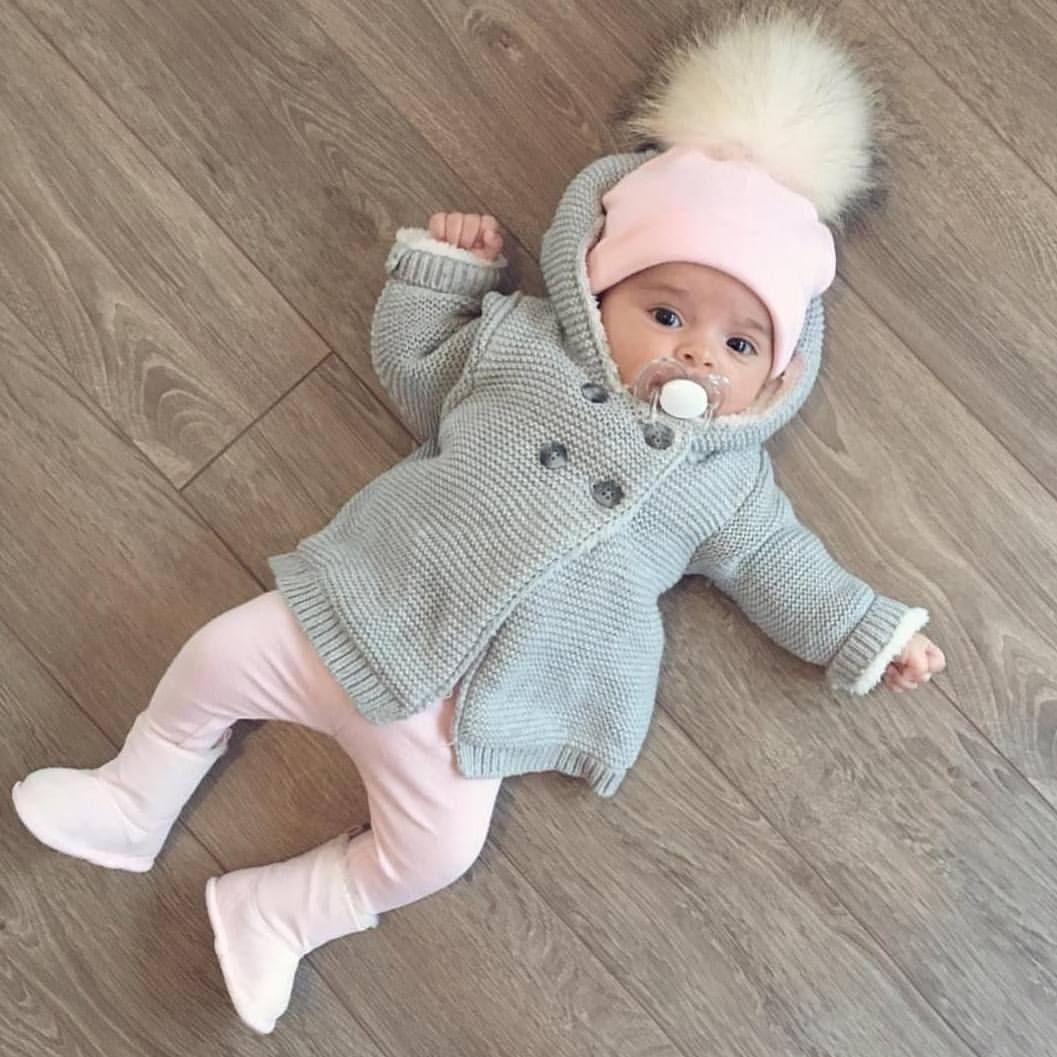 Pin by Bianka on f a m i l y ❃  Baby girl winter, Cute baby girl