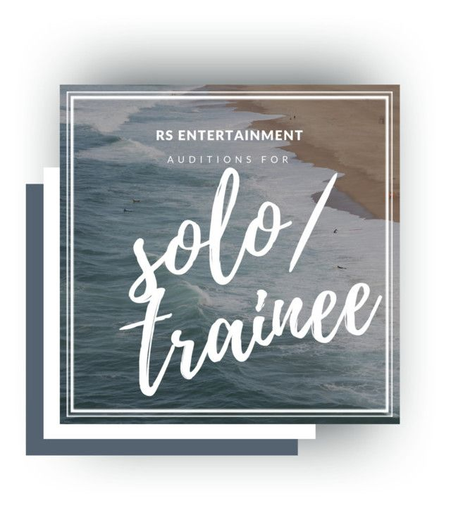 SOLO TRAINEE AUDITION FORM - audition form