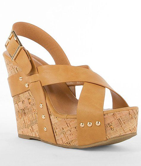 'Wanted Colada Sandal'  #buckle #shoes #wedges  www.buckle.com
