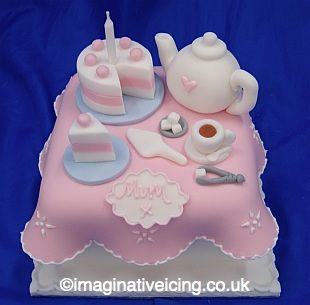mothers day cake pop ideas Tea Time Gift Cake Birthday Cake