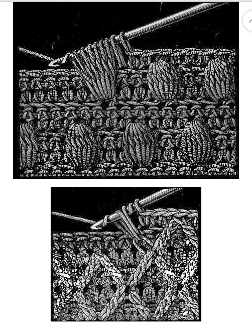 Схемки для вязания крючком