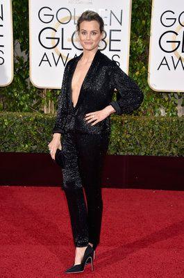 Helen Mirren's Golden Globes Dress Is Sheer Elegance