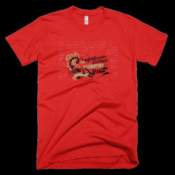 Scorpion Legend Freedom Fighers Unisex Tee 100% Cotton Mens or Womens Short Sleeve T-shirt