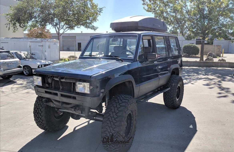 Project 1988 Isuzu Trooper Build Sema 2018 Catuned Off Road Trooper Pickup Trucks Projects