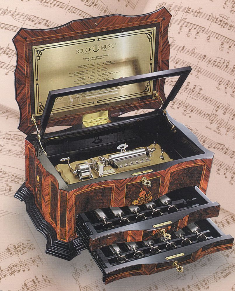 music box | reuge music box catalog back to music boxes home