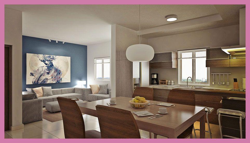 Decoraci n sala comedor cocina juntos actual decoracion for Casa con cocina y comedor juntos