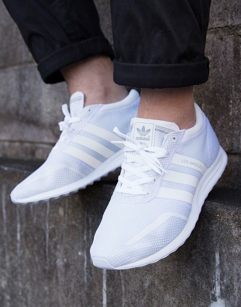 adidas los angeles white