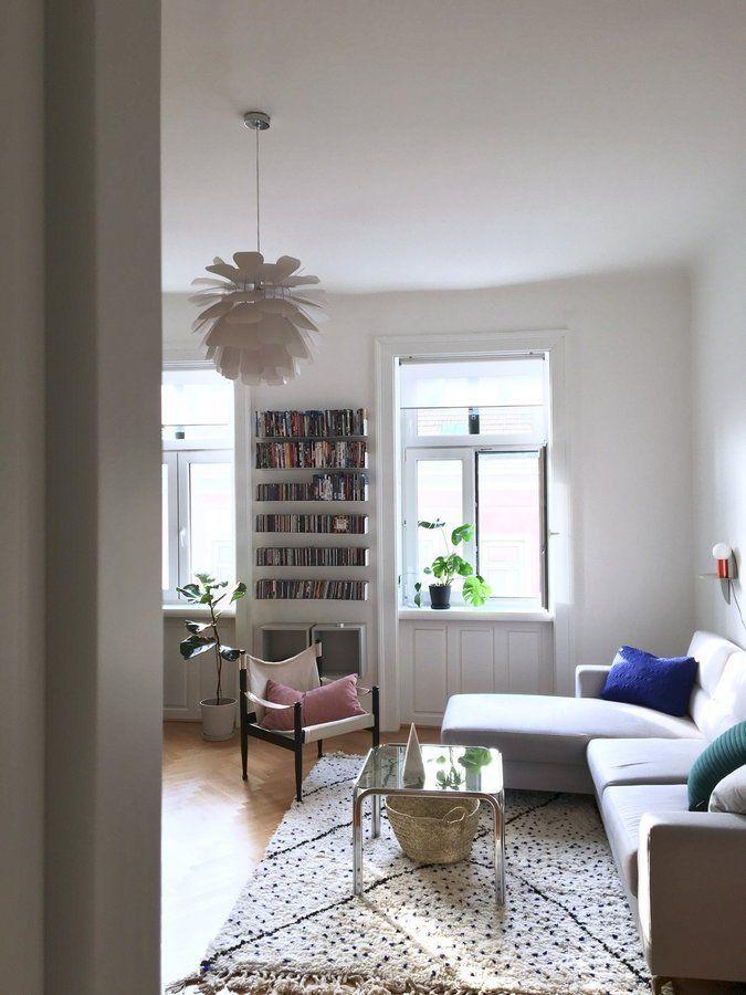 Wohnzimmerblick | SoLebIch.de Foto: Lynne #solebich #wohnzimmer #ideen  #Möbel #Einrichten #modern #wandgestaltung #farben #Altbau #holz #u2026 |  Wohnzimmer In ...