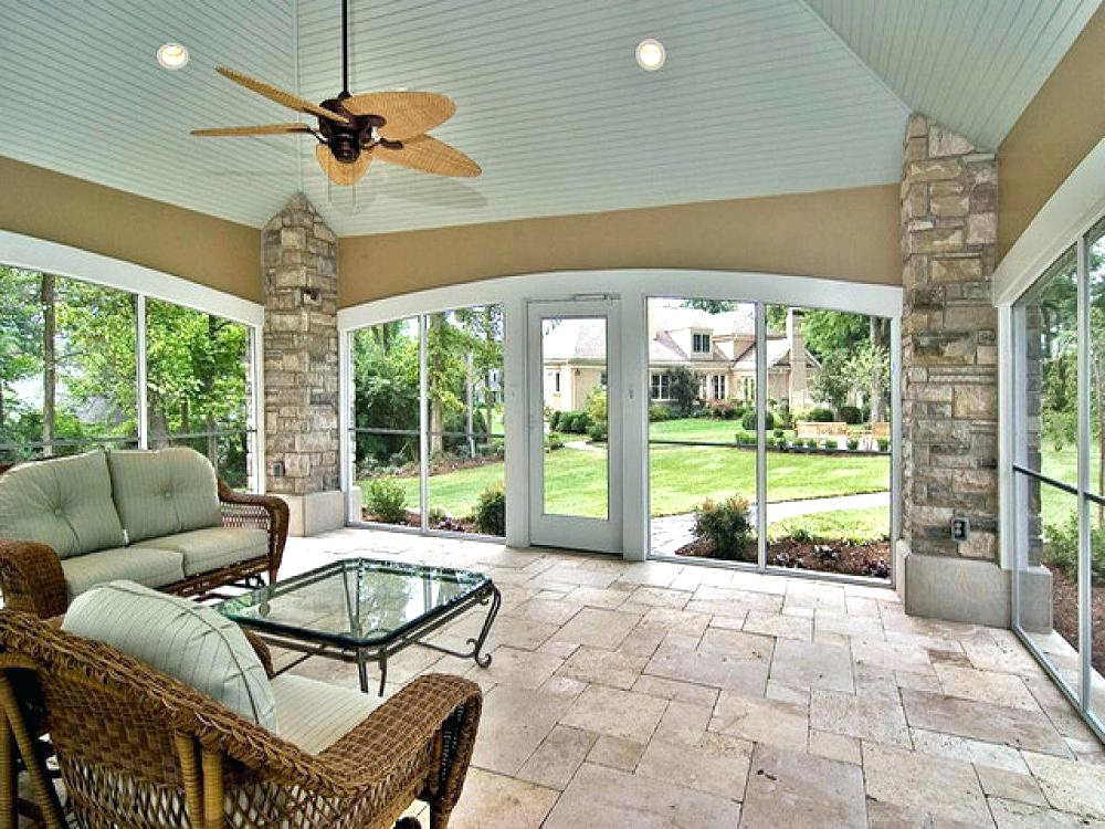 Enclosed Porch Ideas Closed In Cottage ... in 2020 ... on Closed Patio Design id=13993