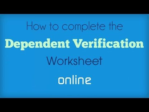 Uc Merced Financial Aid Presents How To Complete The Dependent