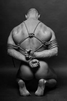 Bondage art rope men