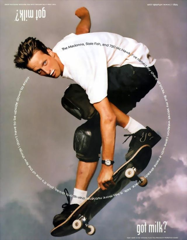 Got Milk? ~ Tony Hawk | Got milk ads, Tony hawk, Annie leibovitz photography