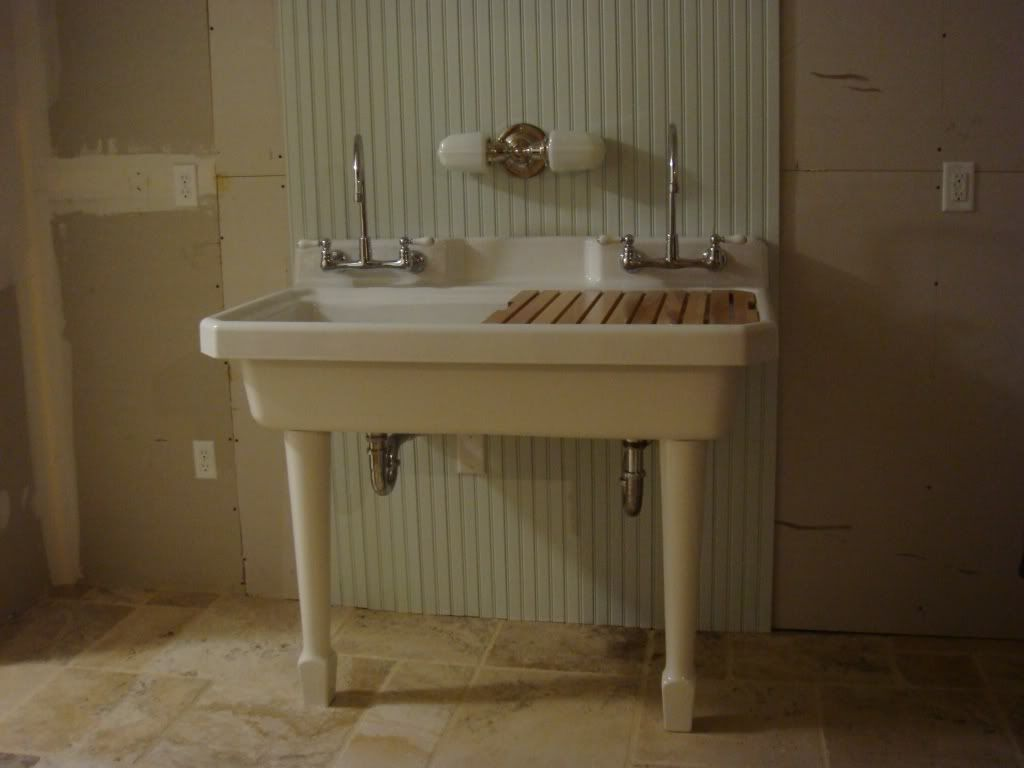 Lovely Kohler Harborview Sink With Wood Drainboard