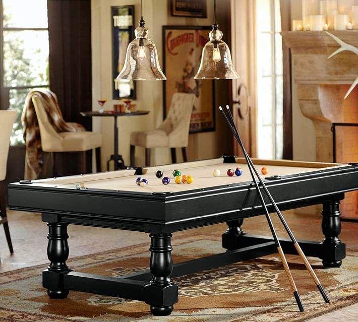 Turned Leg Pool Table Pool Table Room Custom Pool