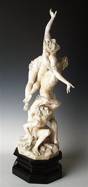 Rape of the Sabine Woman  Barthel, Melchior (sculptor)  Venice, briefly in 1670 and Dresden, 1670-1672