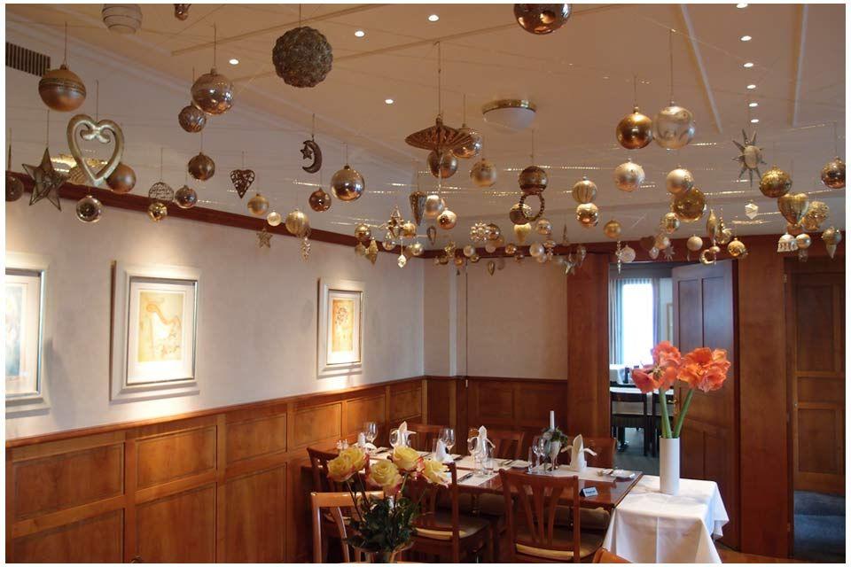 Christmas Decor Restaurant Linde, Kleindöttingen Nov