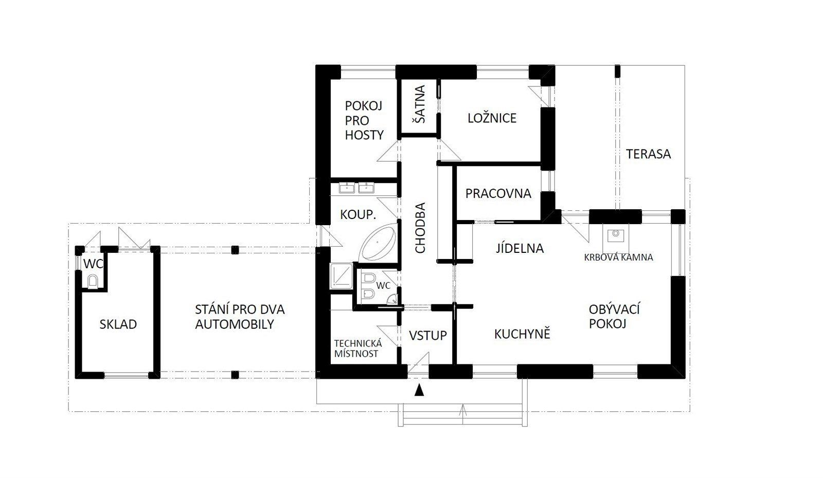 Plan Domu With Images