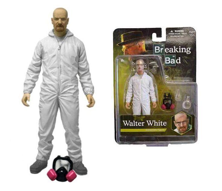 White Hazmat Mezco Action Figure Breaking Bad Walter White