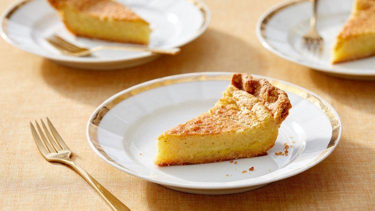Buttermilk-Cardamom Pie