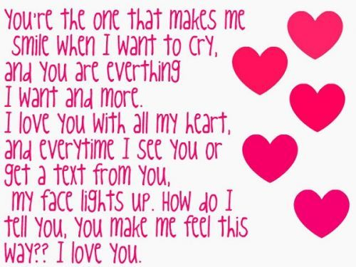 How Much I Love You Quotes To Your Boyfriend   Bing Images
