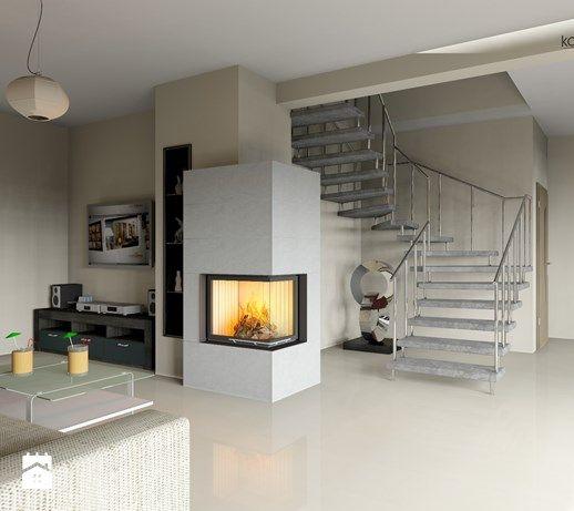Znalezione Obrazy Dla Zapytania Minimalistyczny Kominek Narozny Home Home Decor Fireplace