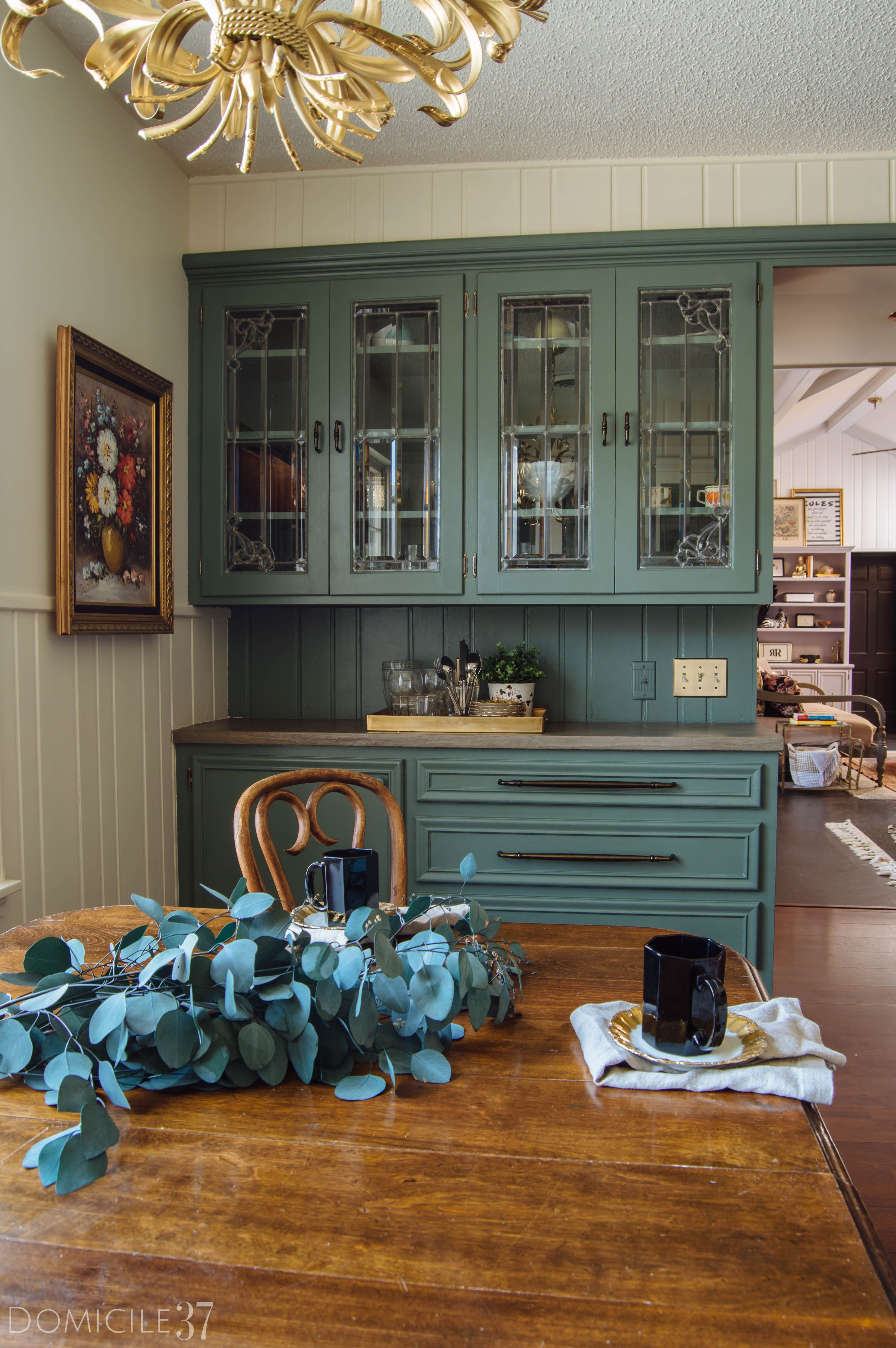one room challenge european inspired breakfast area on best paint for kitchen cabinets diy id=48027