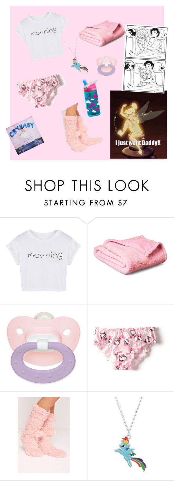 """""""Good morning cupcake"""" by cupcake-little ❤ liked on Polyvore featuring WithChic, Zara, Missguided and My Little Pony"""