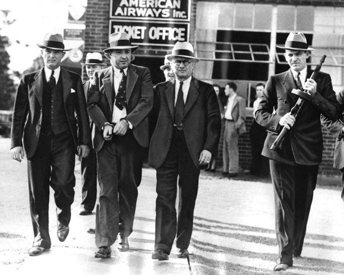Details About 1933 American Gangster Mobster George Machine Gun