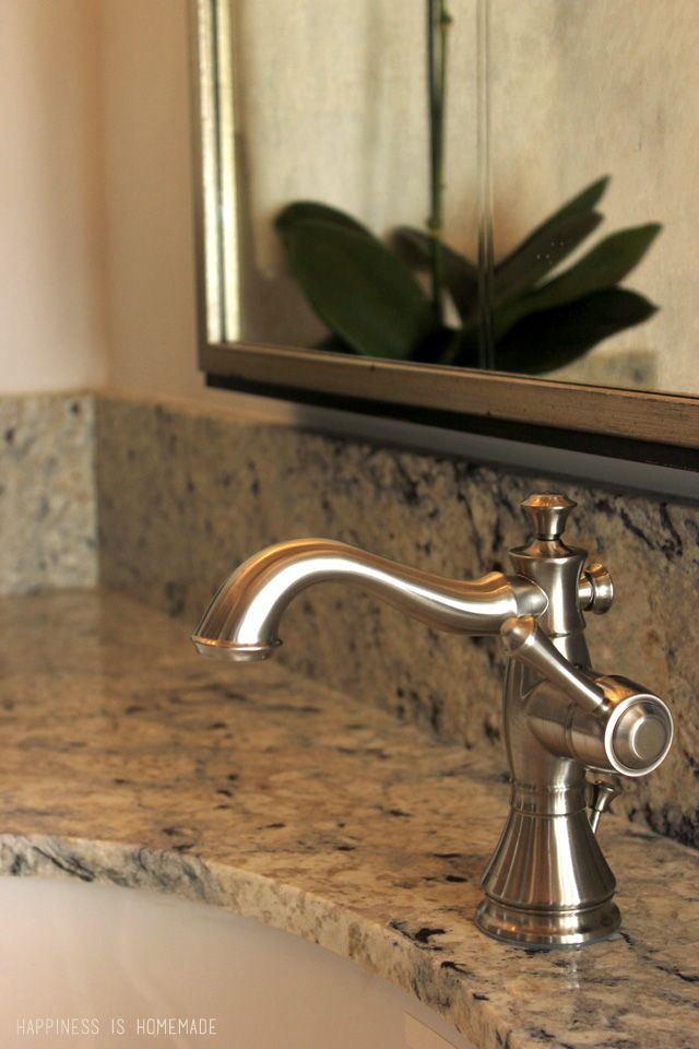Delta Cassidy Bath Faucet at the 2014 HGTV Dream Home 78th