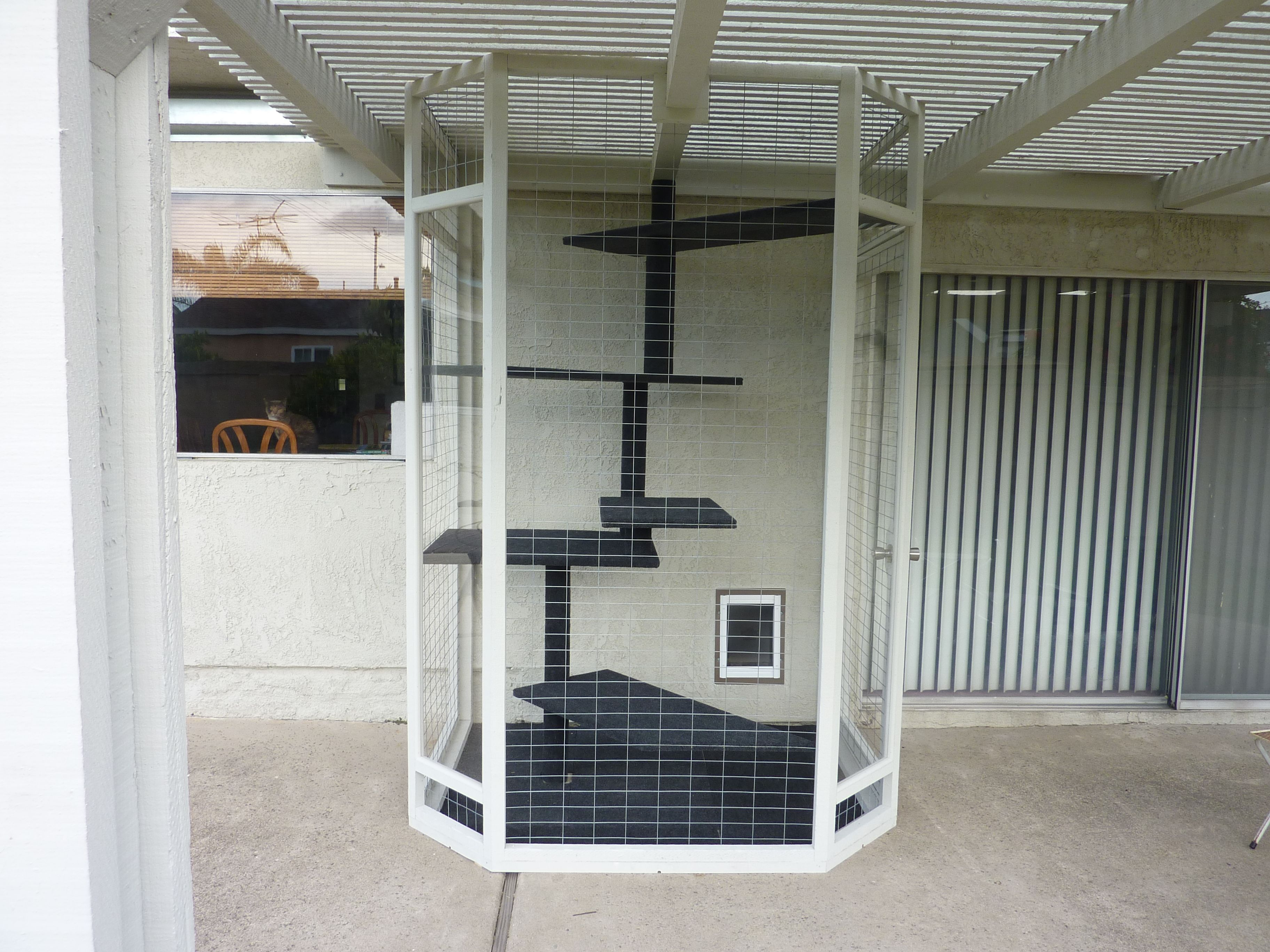 catio I would change a few things but this is awesome