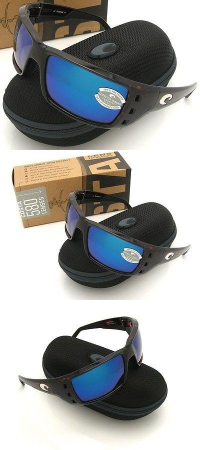 9f24444e75f Sunglasses 151543  Costa Del Mar Permit Tortoise And Blue Mirror Glass 580  New 580G -