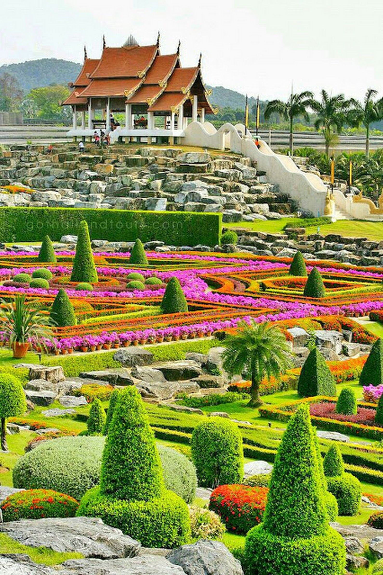 The Most Beautiful Gardens In Thailand Thailand Pinterest Com