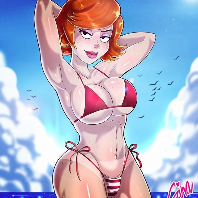 American dad gina hot girls wallpaper