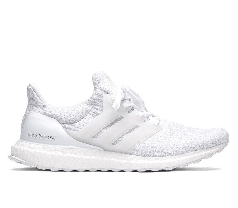 GENUINE Adidas Ultra Boost 3.0 Triple White, Men's Fashion