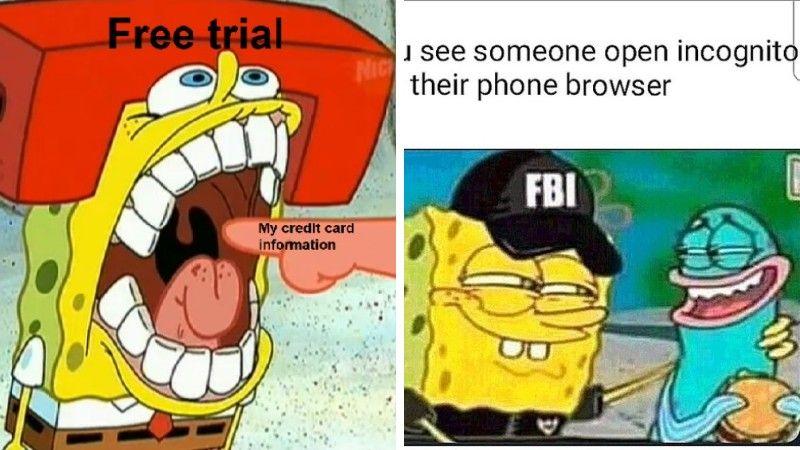40 Funniest Spongebob Memes On The Internet Dankest Meme Funny Spongebob Memes Spongebob Memes Hmm Meme