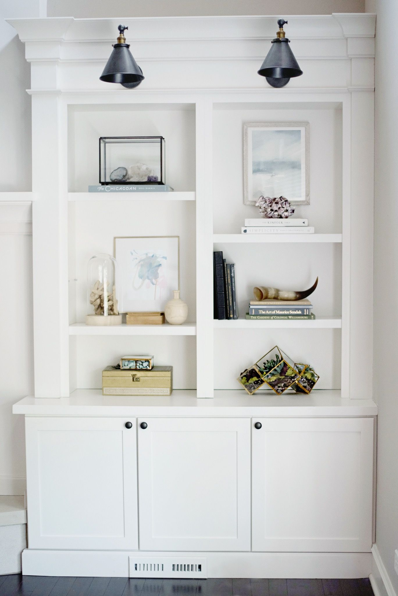 Shelf Styling Bookcases Built Ins Family Room Ideas