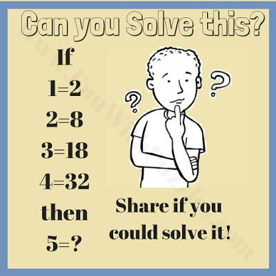Math Logic Brain Teasers For High School Students Math Riddles
