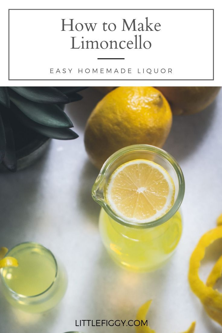 Easy to make homemade limoncello recipe learn how to make