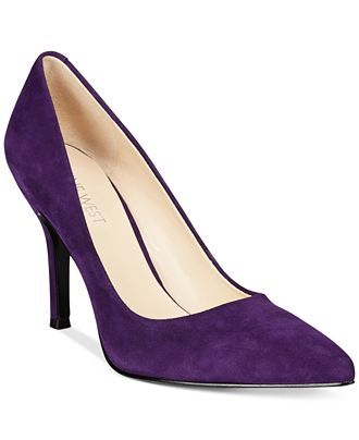 Nine West Flax Suede Pointed Toe Pumps - Flats - Shoes - Macy's