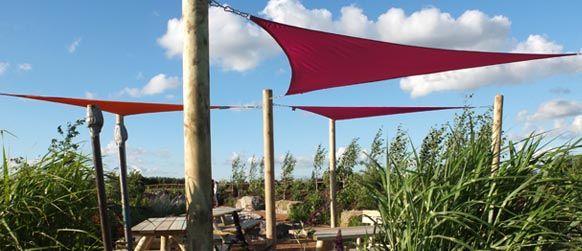 Shade Sails from £999, Waterproof Garden Sail Shades Garden