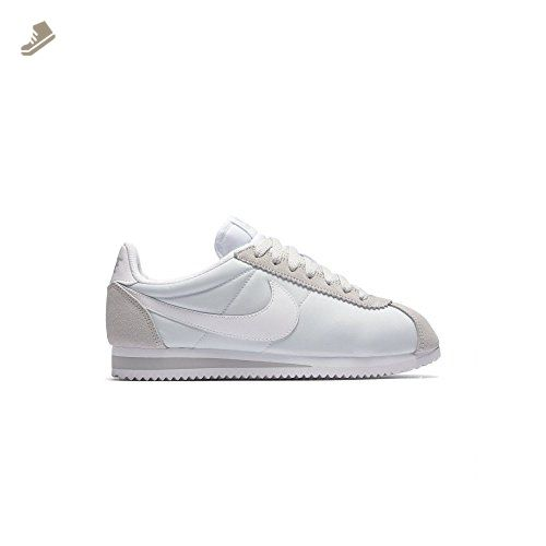 check out b720b b27ce Nike - W Classic Cortez - 749864010 - Color: Grey-White ...