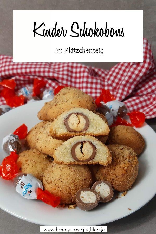Kinder Schokobons im Plätzchenteig – Backen mit Schokobons – Kekse