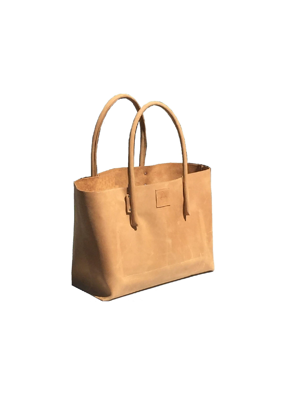Wunderschöne handgefertigte Tasche aus Naturleder! Große Ledertasche ...