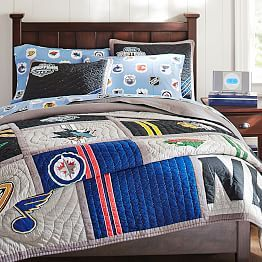 Wonderful NHL® Bedding, Ice Hockey Bedding U0026 Hockey Bed Sheets | PBteen