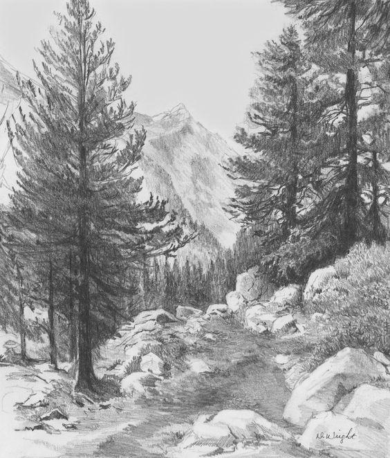 Landscape Drawings in Pencil | Re)Introducing Pencils.com ...